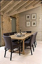 Neptune Miller Linen Dining Chair - Night Sky