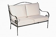 Neptune - Monaco 2 Seater Sofa Frame With Natural Cushion