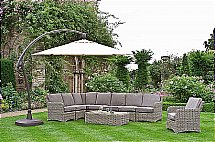 Neptune - Murano Garden Set