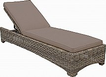 Neptune - Murano Sunlounger With Cushion