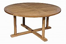 Neptune - Oxford Round Teak Table