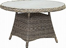 Neptune - Pesaro 120cm Table Without Parasol Hole