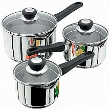 Judge - Vista Three Piece Saucepan Set