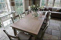 Neptune - Suffolk Extending Seasoned Oak Table