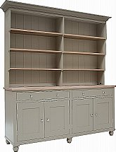 Neptune - Suffolk 6Ft Open Rack Dresser With Drawers