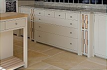 Neptune Suffolk Chopping Block and 7 Drawer Cabinets