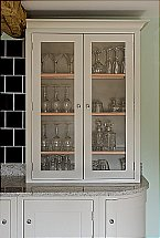Neptune - Suffolk 920 Glazed 2 Door Counter Top Cabinet