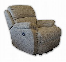 Vale Furnishers - Jake Single Motor Riser Recliner in Marrakesh Mink
