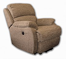 Vale Furnishers - Jake Single Motor Riser Recliner in Pacific Flax
