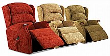 Vale Furnishers - Wiltshire Fabric Recliners