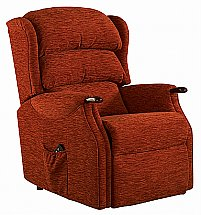 Vale Furnishers - Wiltshire Grande Fabric Recliner