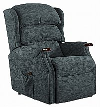 Vale Furnishers - Wiltshire Standard Fabric Recliner