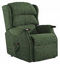 Vale Furnishers - Wiltshire Petite Fabric Recliner