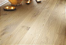 Woodpecker Flooring Chepstow Oak Rustic Grey Planed Plank