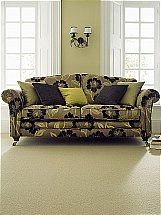 Victoria Carpets Crown Twist Chalk Dust - Carpet