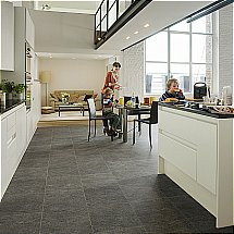Quick Step - Exquisa Dark Slate Tile Design Planks