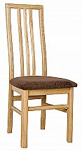 Vale Furnishers - Bruges Oak Dining Chair
