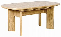 Vale Furnishers - Bruges Two Leaf Extending Table