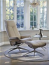 Stressless City High Back Chair and Stool