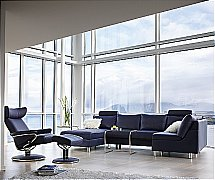 Stressless E200 Sofa and Jazz Chair