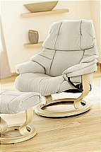 Stressless Tampa Chair and Stool