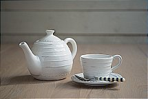 Neptune Bowsley Teapot and Cup