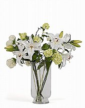 Neptune Alnwick Lily Bouquet With Vase