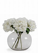 Neptune Snowshill Hydrangea Bouquet With Vase