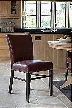 Neptune Miller Leather Dining Chair