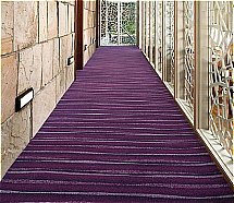 Ulster Carpets the mix Shimmer - Mulberry