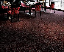 Ulster Carpets the mix Swirl - Berry