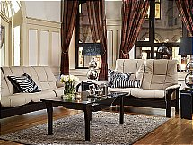 Stressless Buckingham Sofa in Cori Beige
