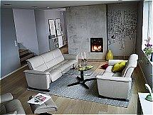 Stressless Panorama Sofa - View Recliner Chair - Cori Beige