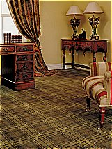 Ulster Carpets Country House Collection Beaumont Carpet - Antique Green