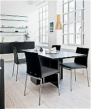 Skovby 101 Dining Table + 98 Chairs