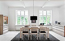 Skovby 24 Dining Table + 91 Chair + 88 Sideboard