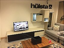hulsta Scopia Full Wall Display and Lowboard cw SOUND SYSTEM