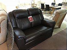 Gplan Milton 2 Seater leather Sofa