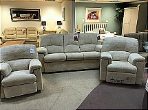 G plan Chloe 3 Seater and 2 Recling chairs