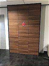 Nobilia Walnut Storage Unit
