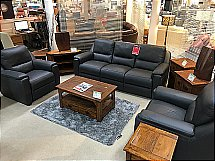 italia Living Andria 3 Seater and 2 Chairs