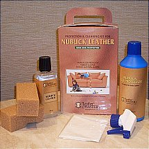 Vale Furnishers -   Nubuck ECO Protection and Cleaning Kit