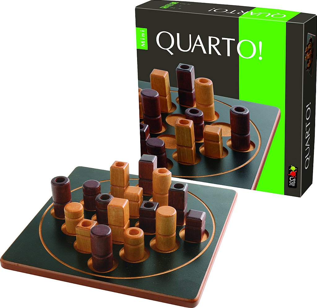 Coiledspring Games Quarto Board Game Gigamic