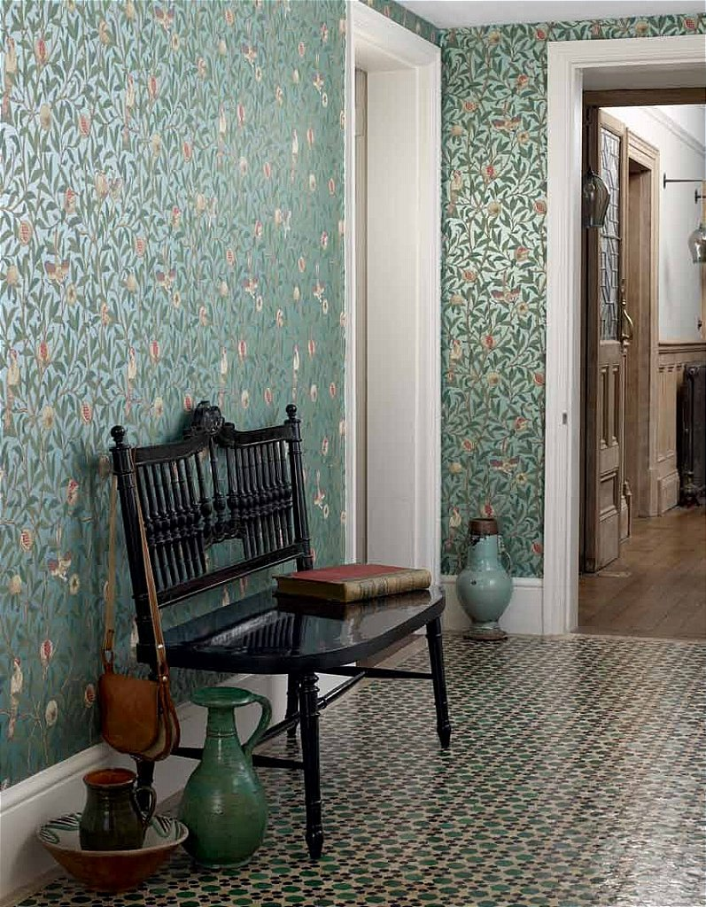 William Morris Bird And Pomegranate Wallpaper