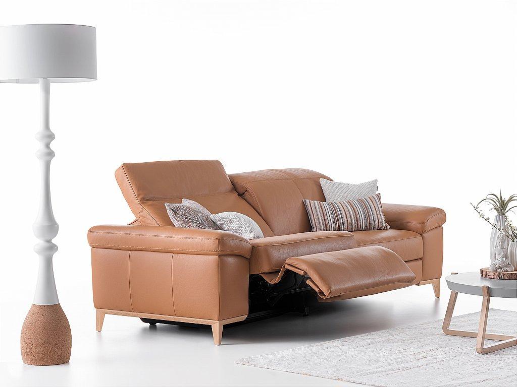 Astonishing Cadini Leather Sofa Cjindustries Chair Design For Home Cjindustriesco