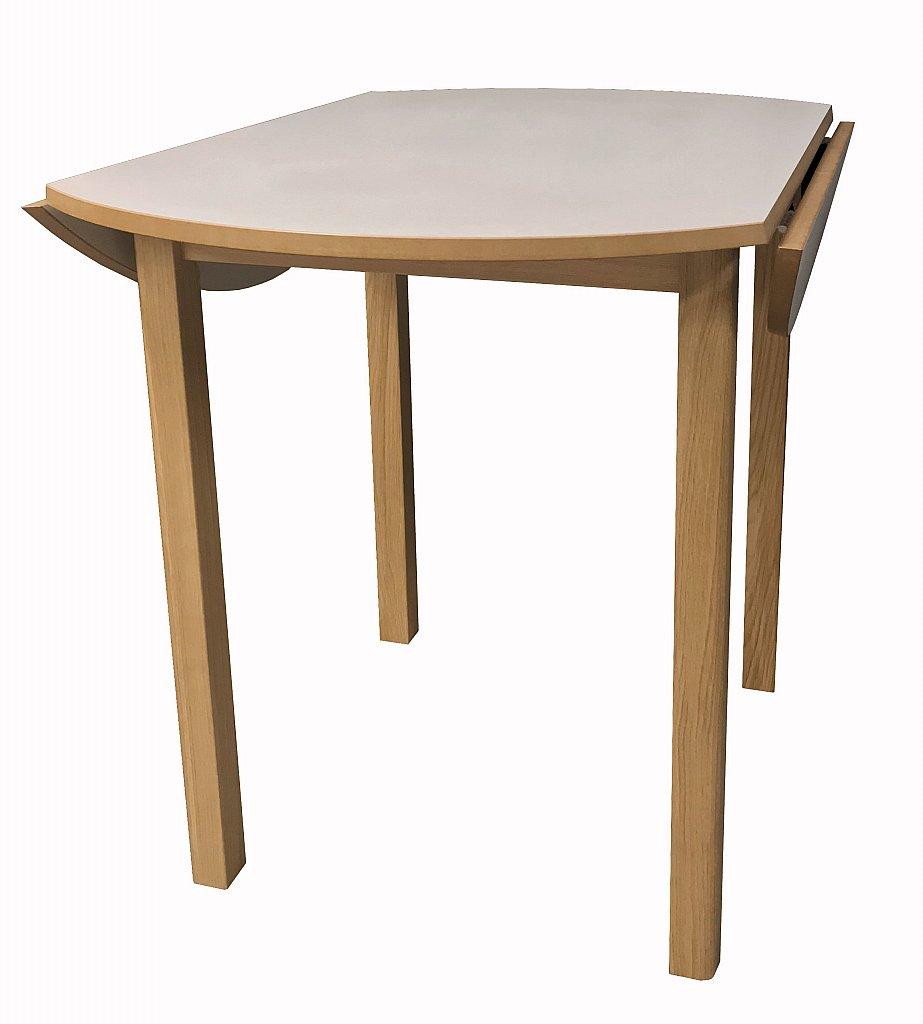 Groovy Dura Top Small Round Drop Leaf Dining Table Download Free Architecture Designs Pendunizatbritishbridgeorg