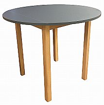 2629/Anbercraft/Dura-Top-Round-Drop-Leaf-Table