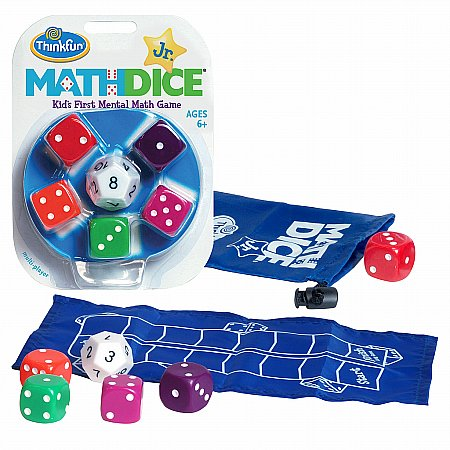 Coiledspring Games - Math Dice Junior