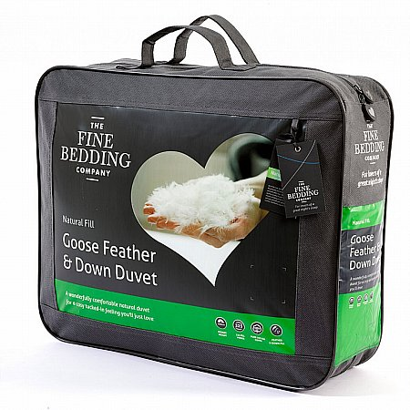 The Fine Bedding Company - Goose Feather and Down Duvet