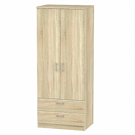 Sturtons - Stour 2 Door 2 Drawer Wardrobe